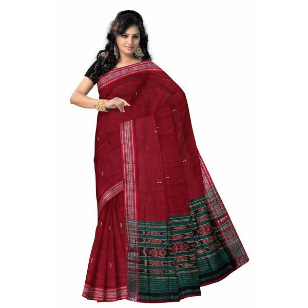 This is the best #Handloom cotton saree of Sambalpur. This saree was made by the best weavers of Sambalpur. It gives you a beautiful look.