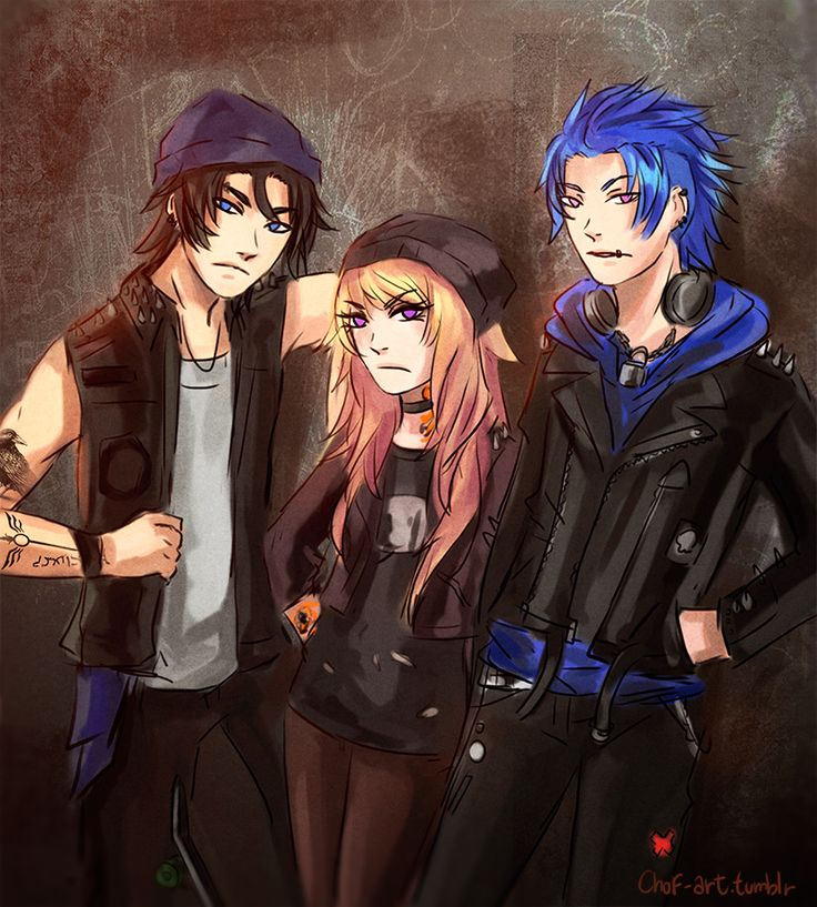 Punk guys by ChoFerry