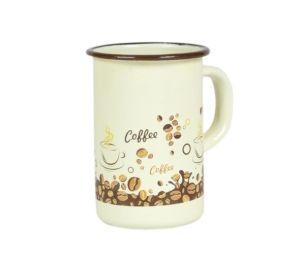 Kubek emaliowany wysoki Elo Coffee 10cm 1L