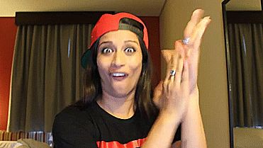 """Cheering you up comes at a cost of looking cray? She'll do it. 