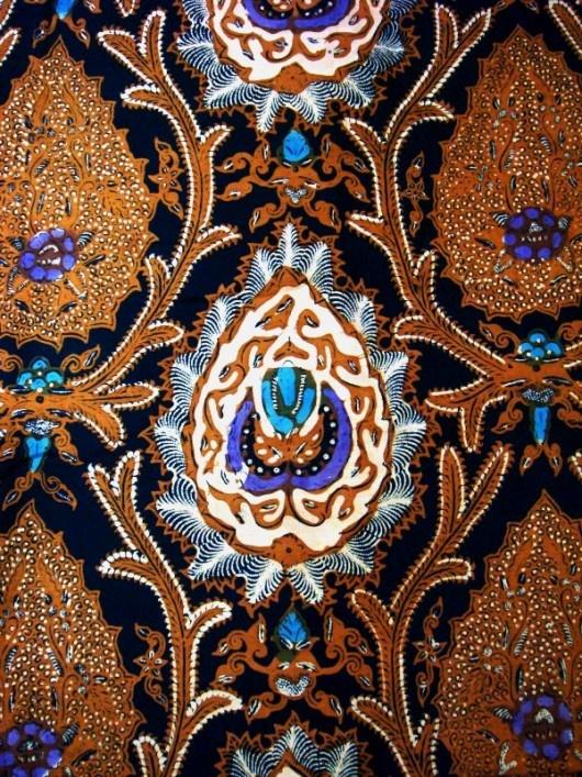 bokor batik Solo - Indonesia
