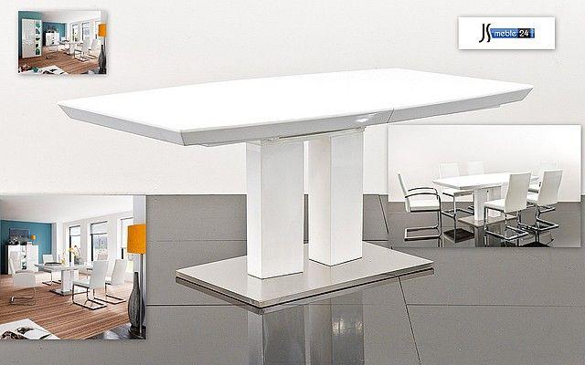 Art 180 220 Nonna - Stół lakierowany rozkładany