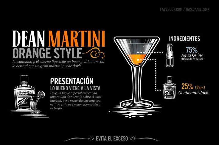 Dean Martini - Orange Style:   Jack Daniel's Drinks