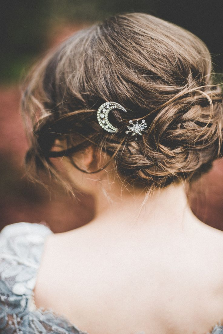 Boho Bridesmaid Hair by Rosa O, Alice Halliday styling, Liberty & Jasmine vintage dress, Kate Bean Photography, Wildflower Weddings