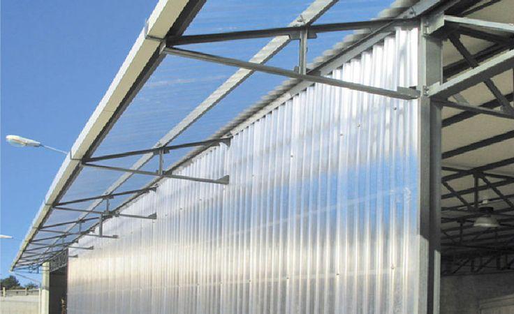 Dämmung / Akustik- und Wärmedämmung / aus Polycarbonat / für Fassaden / Innen ONDA PIU POLYPIU' - PLAST