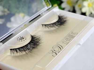 Grosir 3D 100% Bulu Asli Bulu Mata Palsu Bulu Mata Alami/Mink Individu Bulu Mata Ekstensi Untuk Makeup Gratis pengiriman