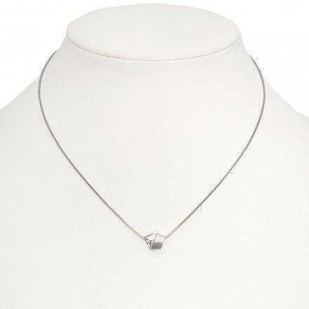 Lara Bohinc Knot Bow Halsband Silver