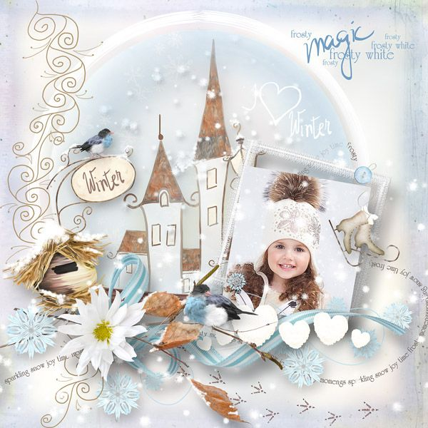 """""""Winter Is Comming to Town"""" by MiSi Scrap"""