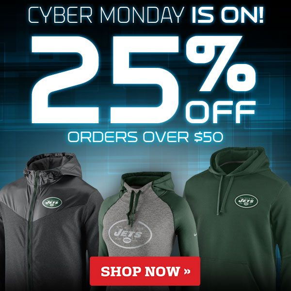 Cyber Monday for NFL Shop (personalized with favorite team)
