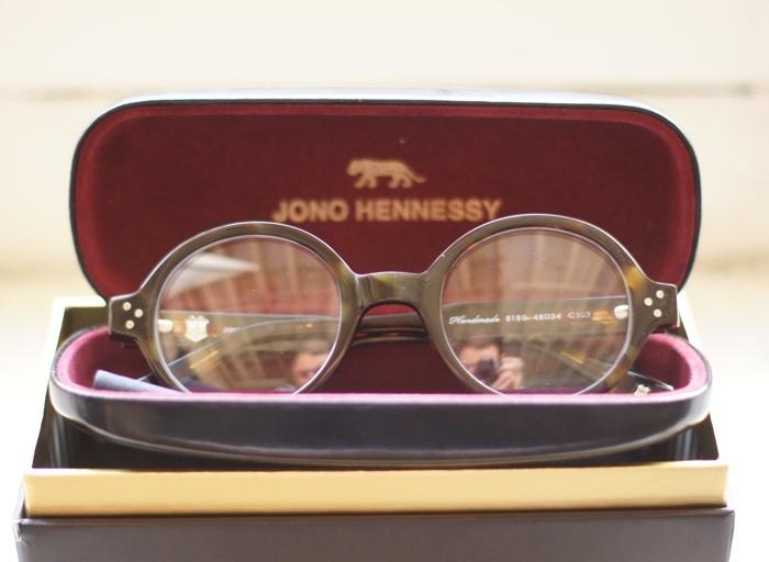 Eyewear by Australian designer Jono Hennessy