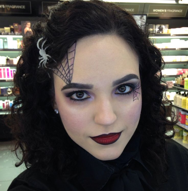 Spider Queen by NoraSephora. Tag your pics with #Halloween and #SephoraSelfie on Sephora's Beauty Board for a chance to be featured!