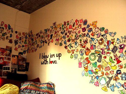 Wall full of perler