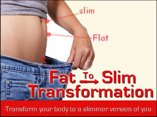 Fat to Slim Transformation. To: All anyone who feel frustrated about being fat… who want to get rid of those lose weight…and avoid unnecessary risks using diet pills and treatments that can harm your body.