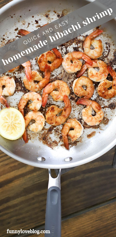 Easy how to make hibachi shrimp at home recipe.