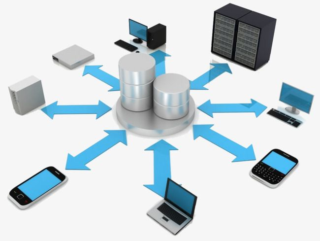 Network Structure Internet Computer Technology Background