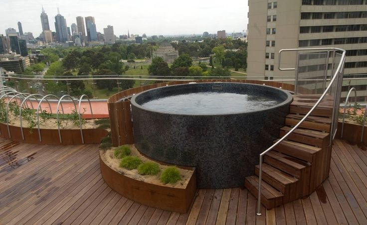 Melbourne rooftop Australian Plunge Pool