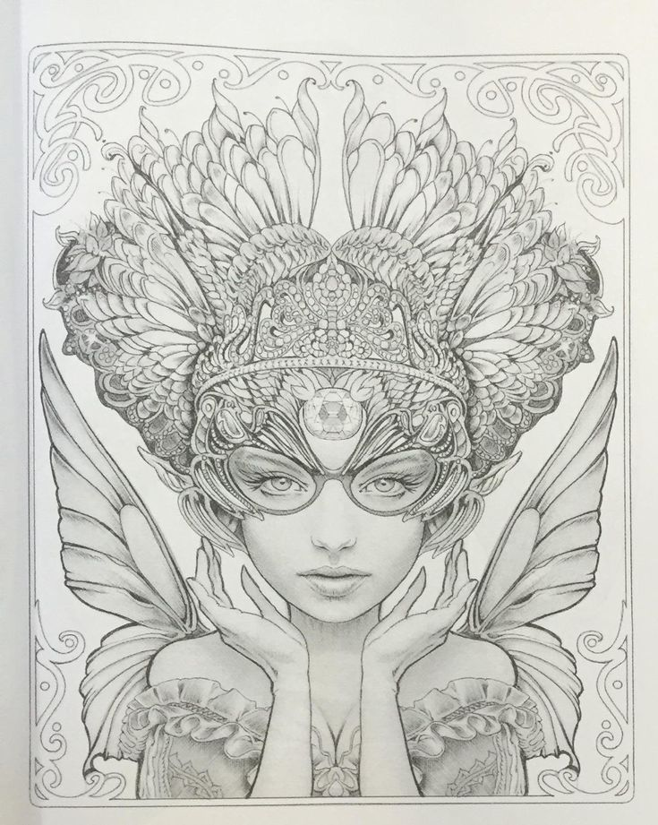1000 images about coloring on pinterest Grayscale coloring books for adults