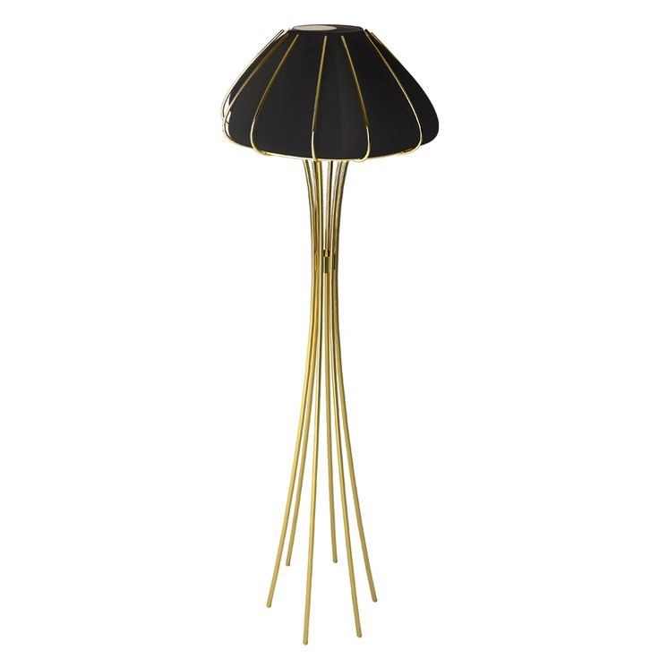 The sea is synonym of wisdom and balance of nature, brings purity, calm and tranquility. Inspired in a jellyfish, these wonderful creatures that live in those long extensions of salt water, Ane contemporary floor lamp is a harmonious modern lghting piece, a sublime element in luxurious interiors decoration.