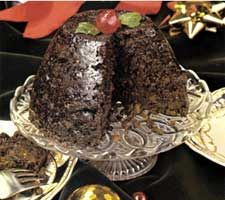 Irish Christmas Pudding & Hard Sauce