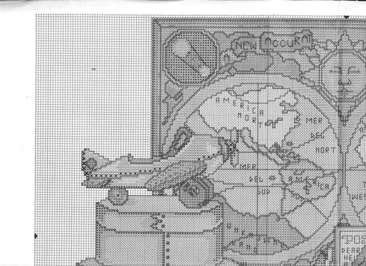 Gallery.ru / Фото #4 - Карта мира на стене - DELERJE
