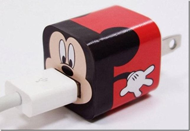 Disney Discovery Disney Charger Usb Skin Sticker Wrap