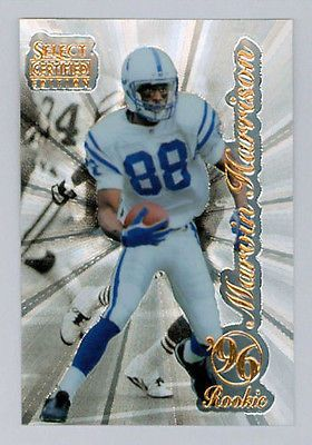 MARVIN HARRISON 1996 96 SELECT CERTIFIED EDITION ROOKIE CARD RC PINNACLE COLTS