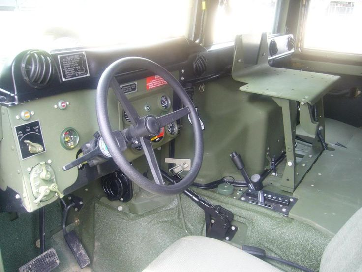 Humvee interior   Humvee   Pinterest   Truck design and