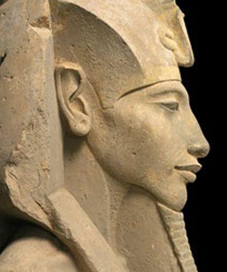 Akenhaten (detail) ~ Egypt We own all Pharaoh Akhenaten's property by inheritance