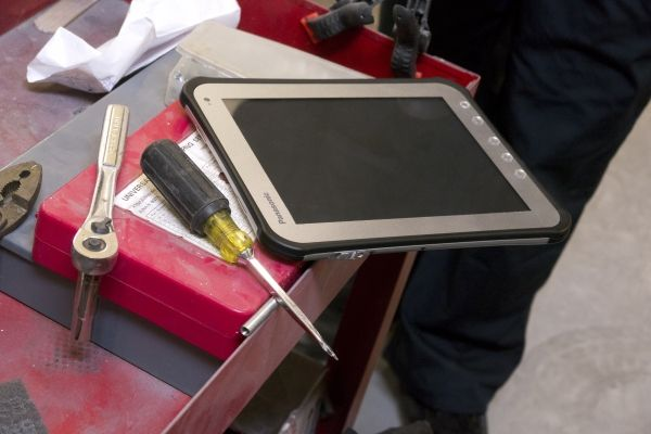 FZ-A1. Toughpad. Compact and reliable. #Toughpad Available for purchase at www.pan-toughbooks.com