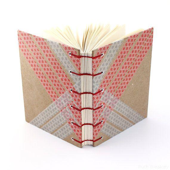 Washi Tape Journal  Handmade Coptic Stitch Blank by RuthBleakley, $36.00