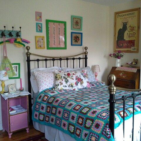 Crochet blanket uwu pinterest manta dormitorio y for La casa de mi gitana muebles