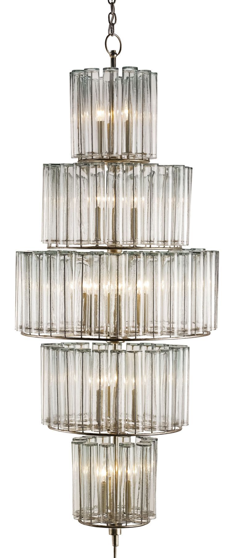BEVILACQUA CHANDELIER, LARGE - currey and company - CURY-9311