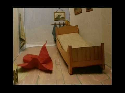 """Van Gogh's bedroom animated painting.  This is so cool! It's a great """"hook"""" for a lesson"""