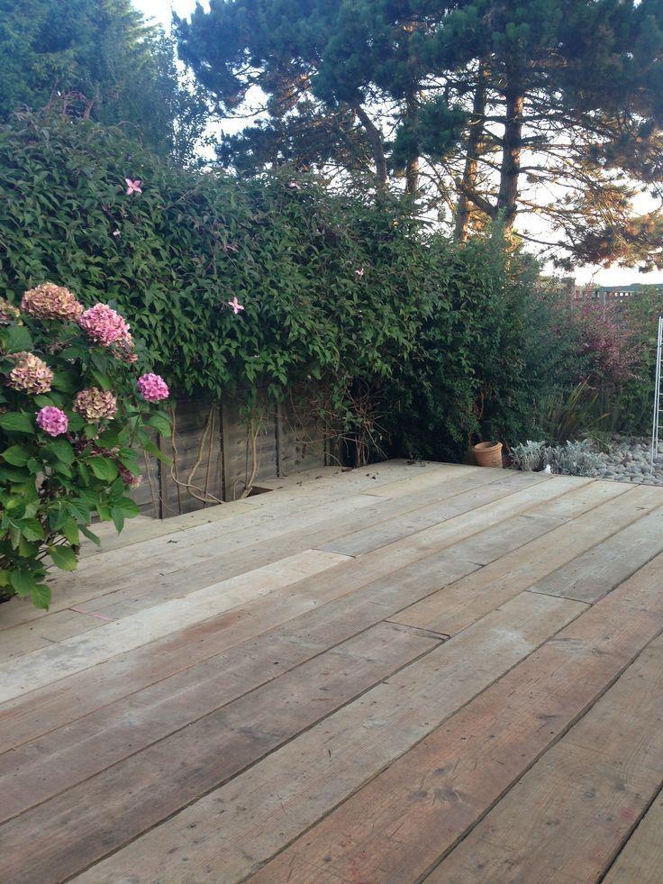 The 25 best used scaffold boards ideas on pinterest for Garden decking gumtree