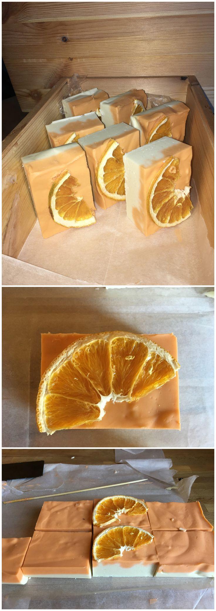 Cinnamon and orange hand Made soap Saponette arancia e cannella fatte a mano. Piccole idee regalo per Natale, economiche, facili e veloci.❤️