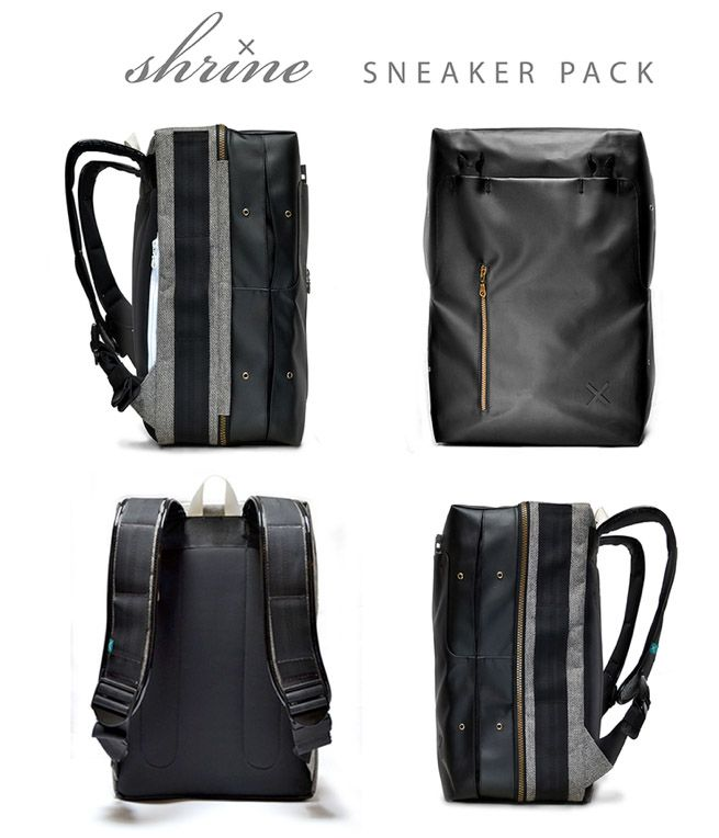 Shrine Sneaker pack, for the sneaker loving guy http://www.kickstarter.com/projects/891077391/shrine-sneaker-pack