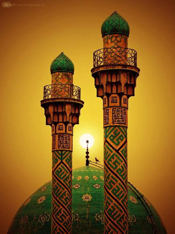 Eternal SunshineTehran, Sharif Mosque