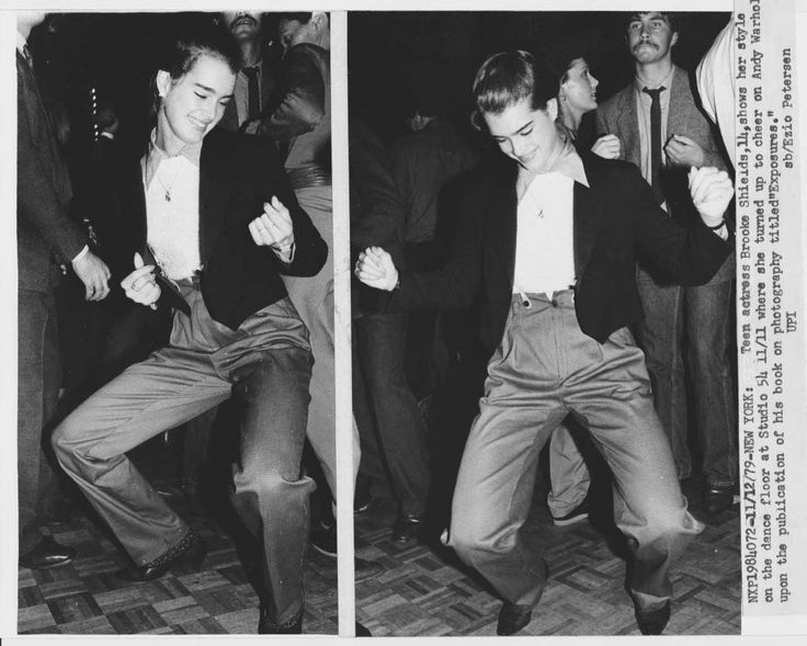 Nov 11 1979 14 Year Old Brooke Shields At Studio 54
