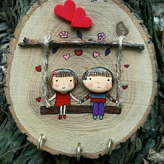 Embellish your home with simple and lovely idea❤  #ideaeveryday #ideaeverything #wood #stone #stoneart #enjoylife #idea #happyfamily #couple ##surprise #makehappy #bespecial #design