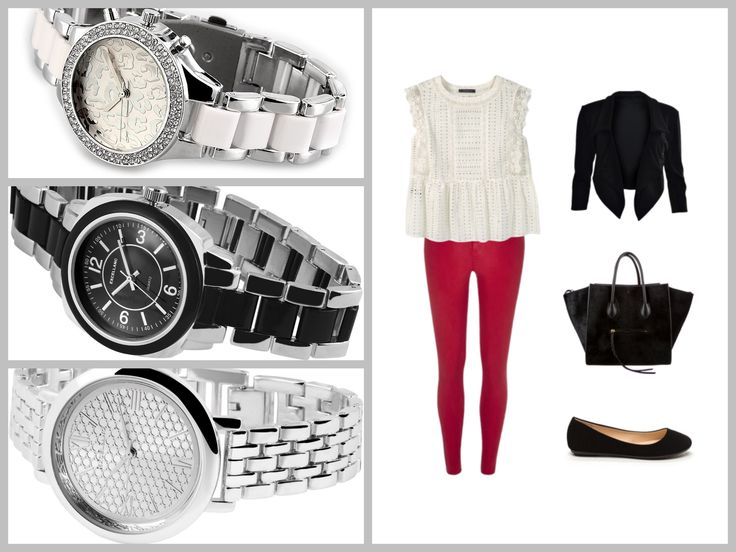 Fekete-fehér-piros + ezüst = álomkombináció! Nyáron nehéz olyan elegáns viseletet választani, ami laza és szellős is egyben. Ezzel az outfittel egyszerre valósíthatsz meg mindent.