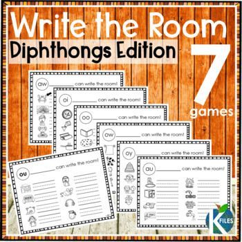 Write the Room: Long Vowels -a great opportunity to get your students moving as they hunt the room for words that reinforce the current phonics or spelling rule they are studying in their Word Study groups, Words Their Way, or Daily 5 centers. You will see how engaged your students will be. These phonics games will be a great supplement to your spelling program.