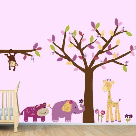 Mono pegatinas de pared p rrafo cuarto de for Stickers habitacion bebe