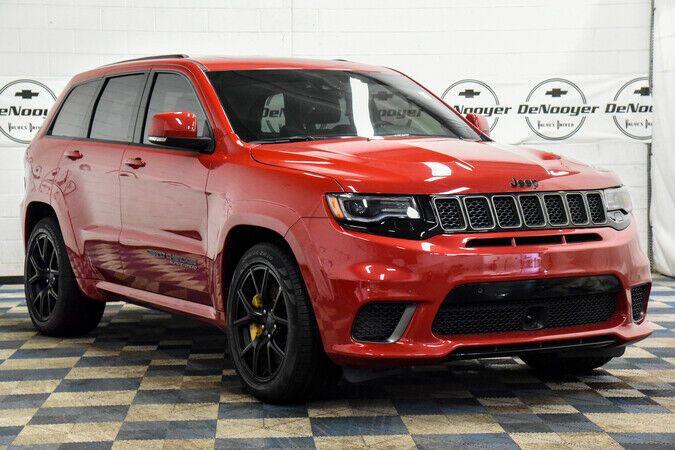 2018 Jeep Grand Cherokee Trackhawk Trackhawk 6 2l Supercharged