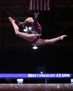 Katelyn ohashi's beam is my favorite routine. It is incredible