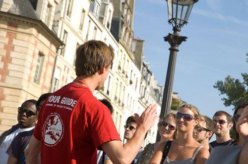 Sandemans Paris Free Walking Tour