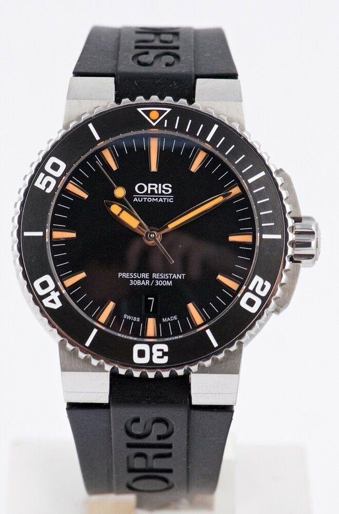 a232b4bb55 Oris Aquis Date O Dive Watch Ref 7653 Circa 2000s  J2 - Oris Watches -   OrisWatches  Oris -  799.99 (0 Bids) End Date  Sunday Feb-24-2019 18 46 02  PST Bid ...