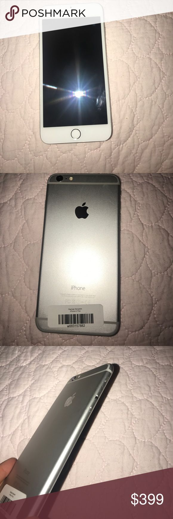 iPhone 6 Plus This is a barely used iPhone 6 Plus, I upgraded to the 7 Plus so I need to sell this phone. Everything works perfectly no damages at all, if you are not satifsfied feel free to send it back. This is an AT&T iPhone 6 Plus! Just add a SIM card. Apple Other