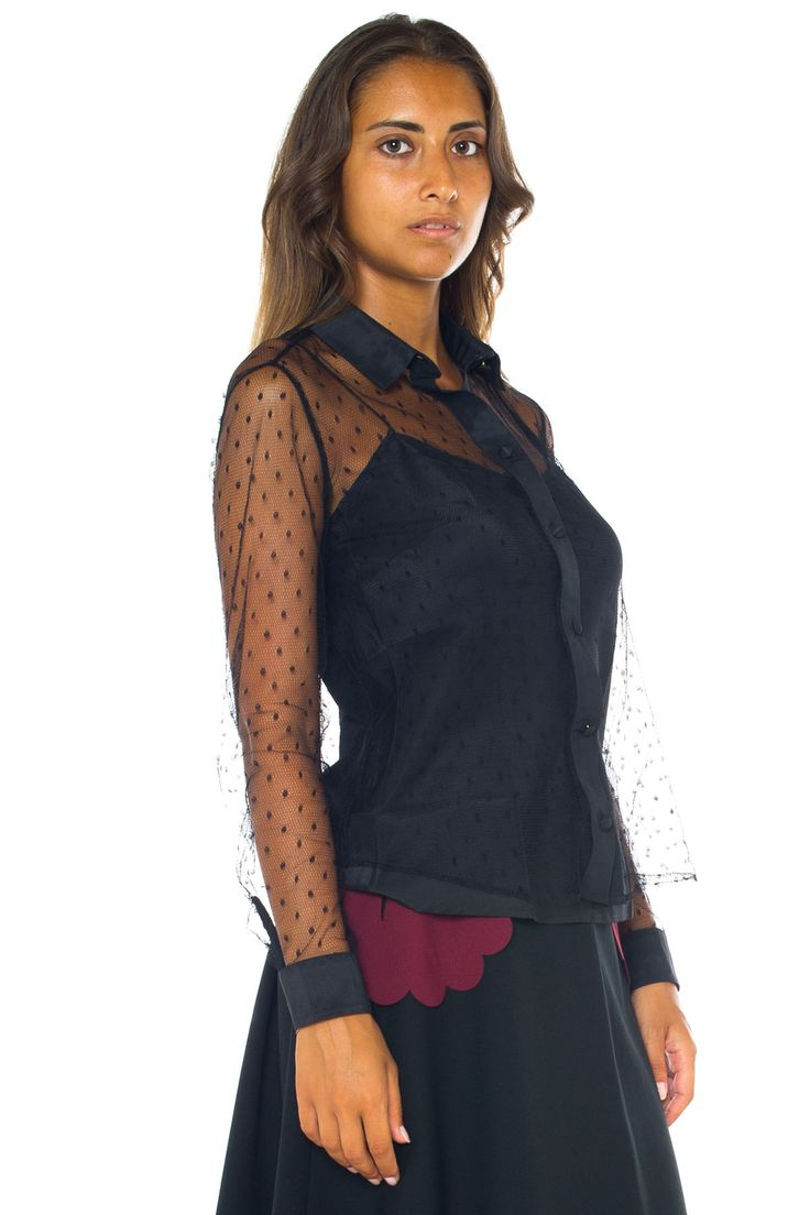 Lace blouse - Euro 310   Red Valentino   Scaglione Shopping Online