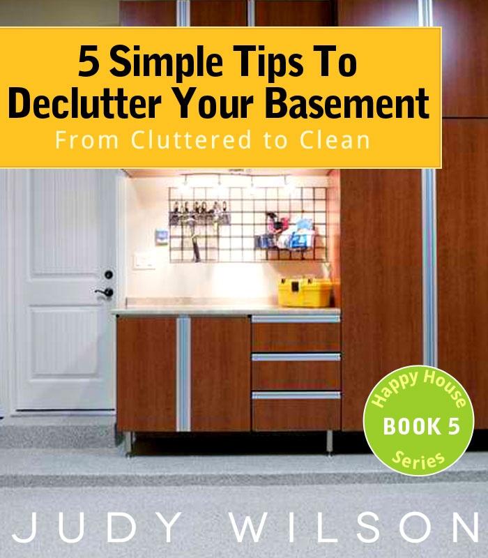 Declutter Your Basement  http://www.amazon.com/dp/B009NTHPPW
