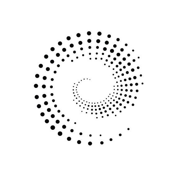 Circles and Dots Temporary Tattoo Set of 2 by Tattify on Etsy